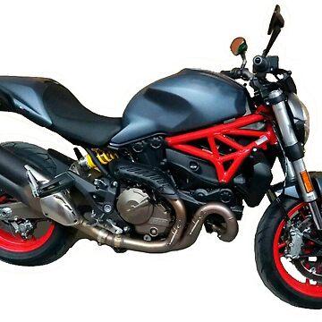 Ducati Monster by SalvorHardin