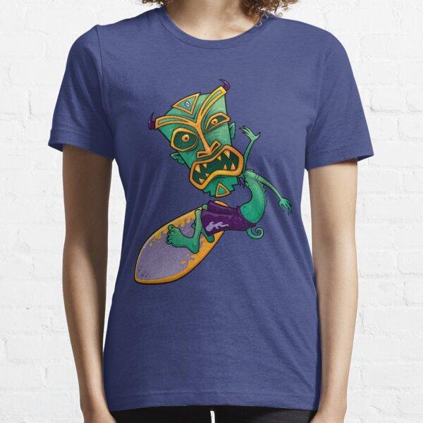 Tiki Surfer Dude Essential T-Shirt