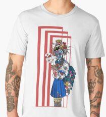 cyberpunk girl Men's Premium T-Shirt