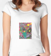 Television Zap Session Women's Fitted Scoop T-Shirt