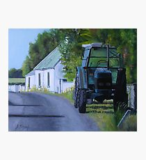 Parked Up Photographic Print