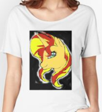 Sunset Shimmer Women's Relaxed Fit T-Shirt