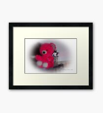 HAHA Mommy Can't Find Me Framed Print