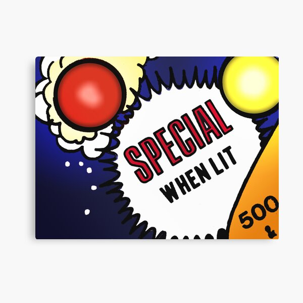 Special When Lit Canvas Print