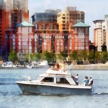 Maryland - Cabin Cruiser by Baltimore Skyline by SudaP0408