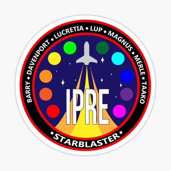 IPRE Starblaster Crew Patch Sticker