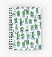 Cactus in watercolor Spiral Notebook