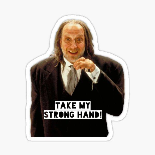 Scary Movie Hanson - Strong Hand Sticker