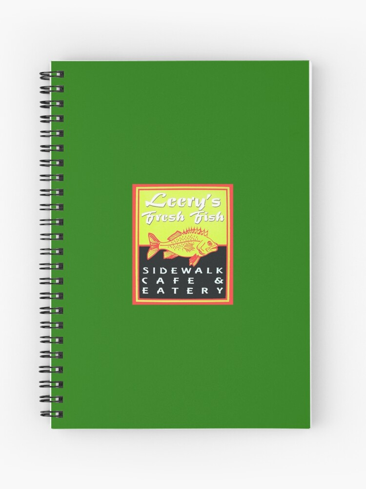 Leery S Fresh Fish Capeside Ma Spiral Notebook By Mjsphotopro Redbubble
