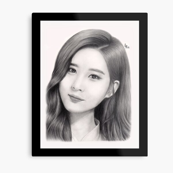 Girls' Generation Seohyun Metal Print