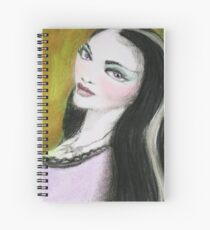 Lily Munster Spiral Notebook