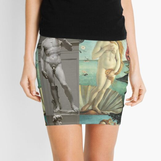 Virtual Meeting of David and Aphrodite  #Virtual #Meeting #David #Aphrodite  Mini Skirt