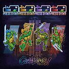 Mutant Ninja Turtle Teenagers by likelikes