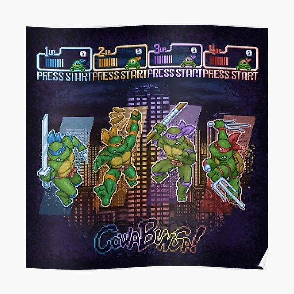 Mutant Ninja Turtle Teenagers Poster