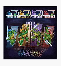 Mutant Ninja Turtle Teenagers Photographic Print
