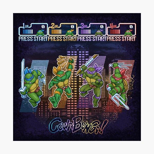 Adolescentes mutantes de tortugas ninja Lámina fotográfica