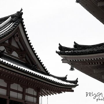 Kyoto Temple Roofs by BryanSoCal