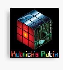 Rubrick's Kubix Canvas Print