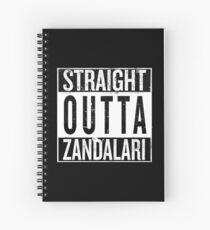 Straight outta Zandalari Spiral Notebook