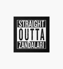 Straight outta Zandalari Art Board