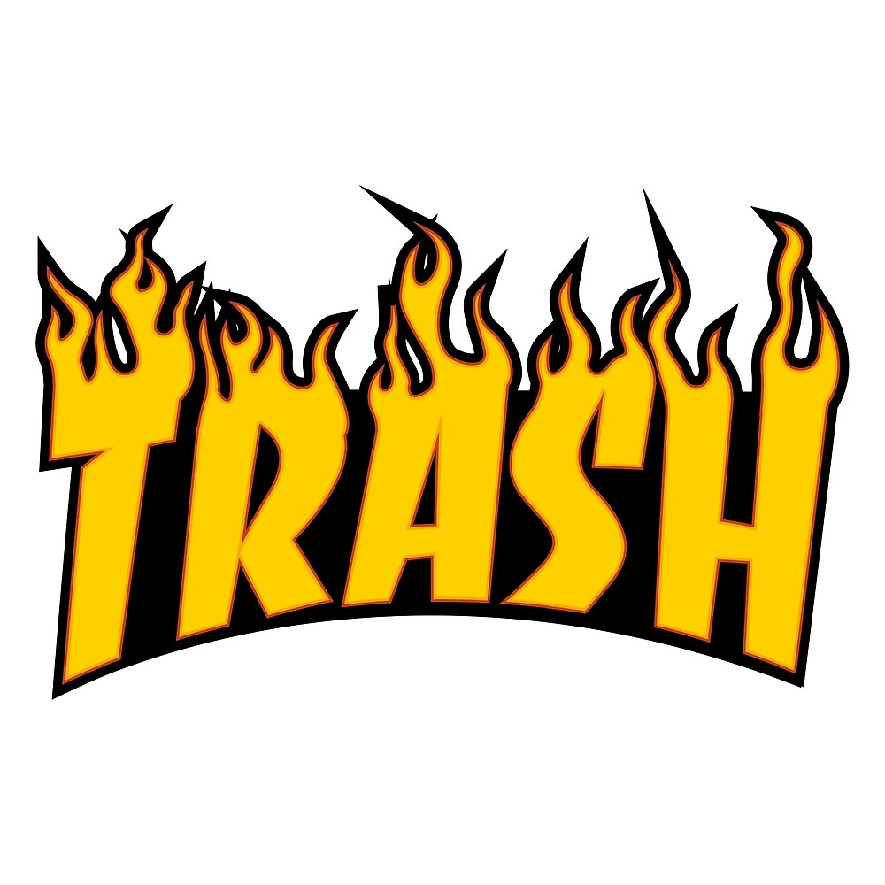 HOT TRASH - THRASHER - fire!! 2018 by Wave Lords United