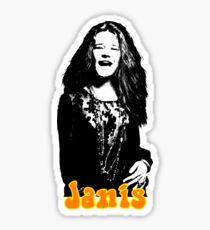 Janis Joplin Sticker