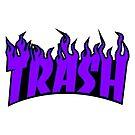 Trasher - trash thrasher - blue 2018 - donald trump USA by Wave Lords United