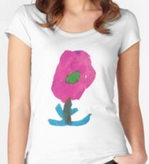 Spring Women's Fitted Scoop T-Shirt