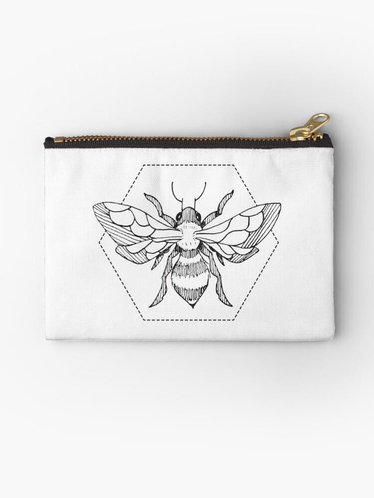 1d13401f Pen & Ink Bee Tattoo