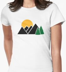 Mountains trees T-Shirt