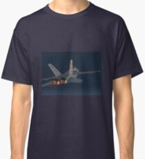 F-18 Hornet jet fighter aircraft [comics edition 3] Classic T-Shirt