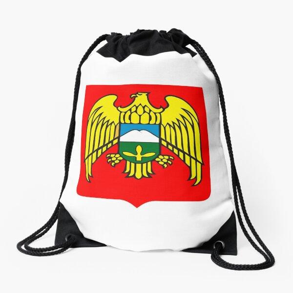 Coat of arms of Kabardino-Balkaria Drawstring Bag