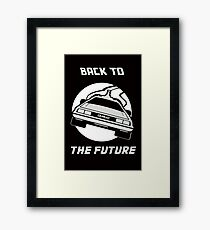 Back to the Future - The Ride Framed Print