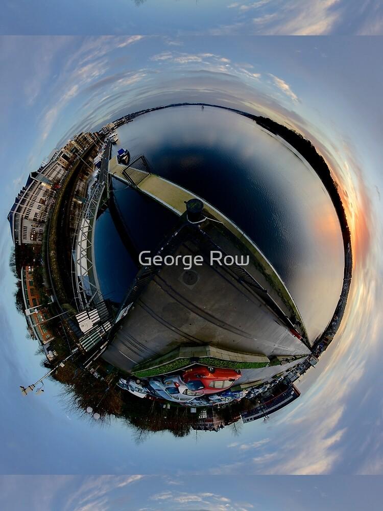Foyle Marina at Dawn, Stereographic by VeryIreland