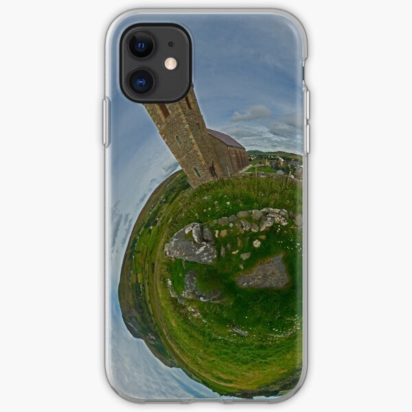 Glencolmcille Church - Sky Out iPhone Soft Case