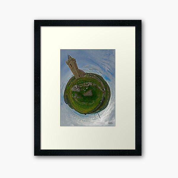 Glencolmcille Church - Sky Out Framed Art Print