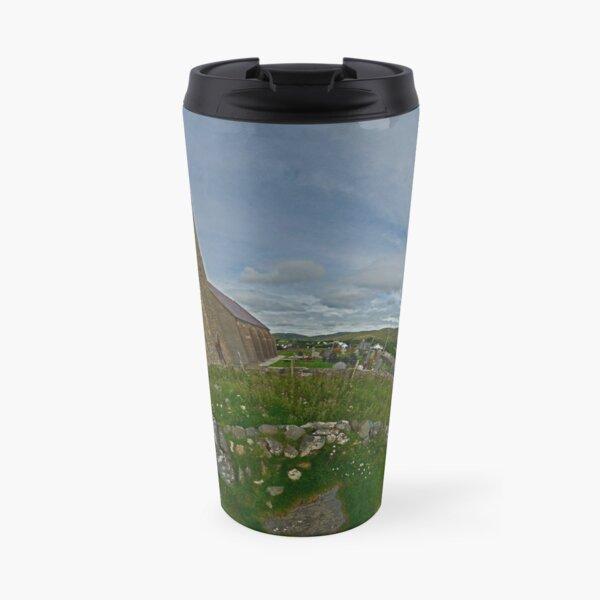 Glencolmcille Church - Sky Out Travel Mug