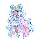 Cute Kawaii Unicorn Mystabella Shopkins Shoppies Doll Anime Fan Art by BonBonBunny