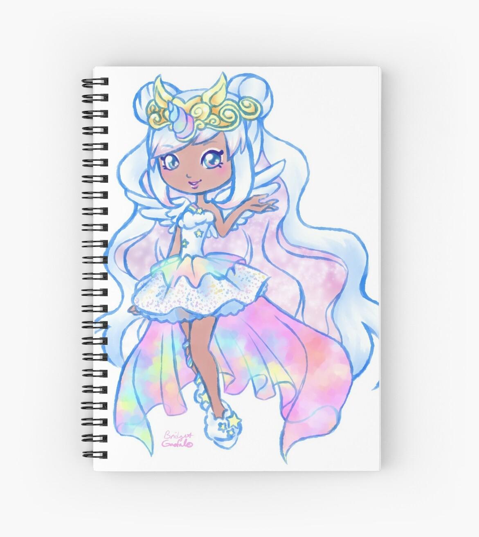 Cute Kawaii Unicorn Mystabella Shopkins Shoppies Doll Anime Fan Art By  BonBonBunny