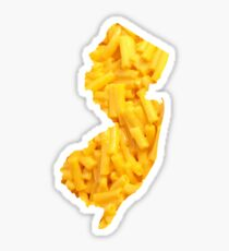 New Jersey Mac and Cheese Sticker