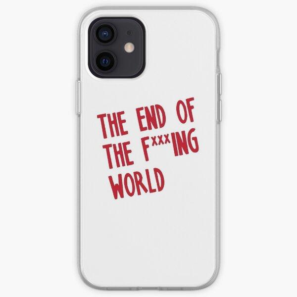 EL FIN DEL MUNDO F *** ING Funda blanda para iPhone