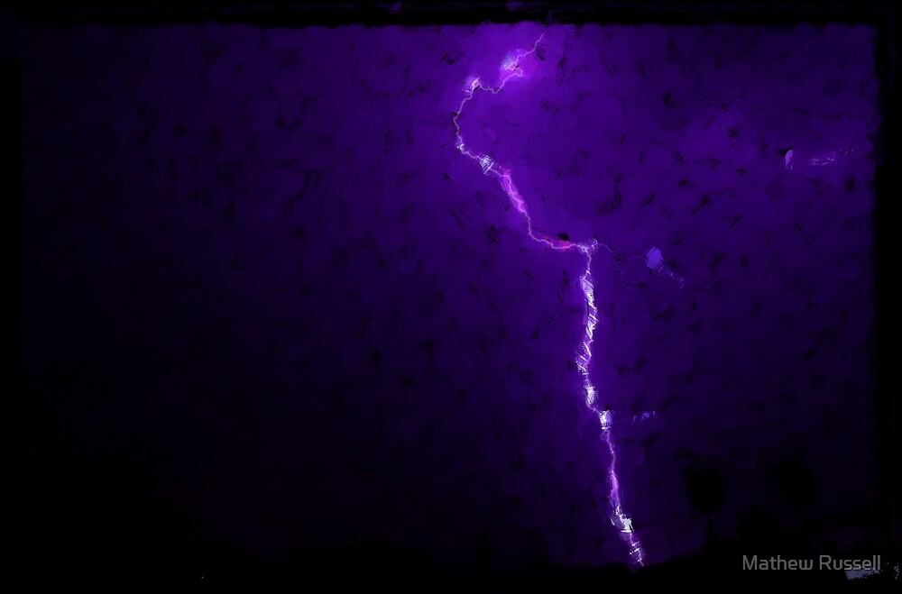 Storm Abstract by Mathew Russell