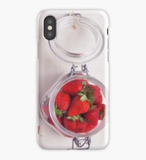 Strawberry Jar iPhone Case