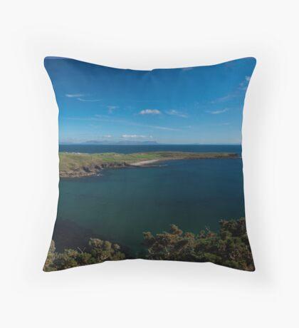 Muckross Head, Donegal, Ireland Throw Pillow