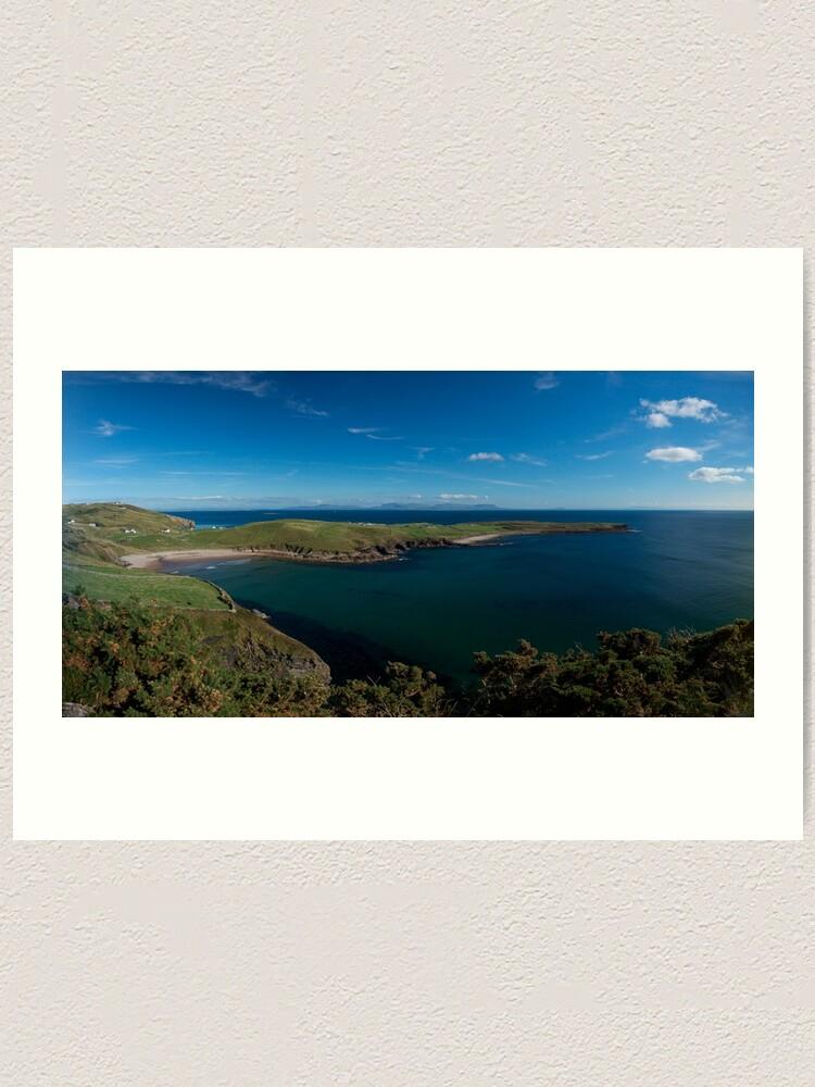 Alternate view of Muckross Head, Donegal, Ireland Art Print