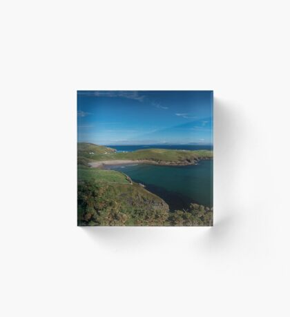 Muckross Head, Donegal, Ireland Acrylic Block