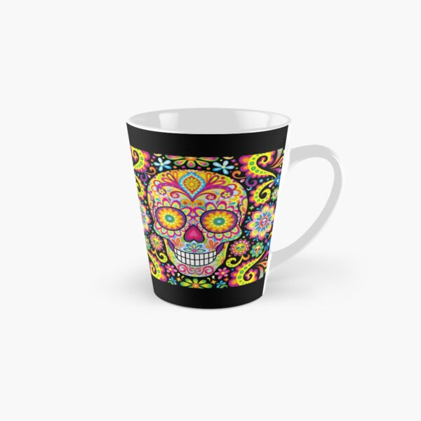 Sugar Skull Day of the Dead Art (Spark) Tall Mug