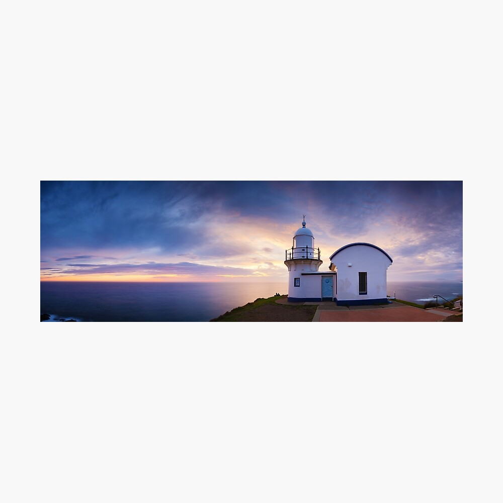 Tacking Point Lighthouse, Port Macquarie, New South Wales, Australia Photographic Print