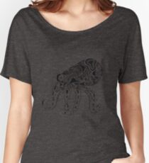Abstract Octopus Floating in the Ether Women's Relaxed Fit T-Shirt