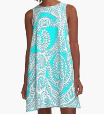 Coastal Breeze A-Line Dress